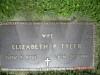 Grave of Elizabeth P Tyler